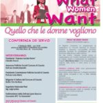 Casoria, parte il progetto What Woman Want