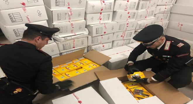 Due tonnellate di sigarette nascoste nel seminterrato: arrestato 35 enne di Sant'Antimo