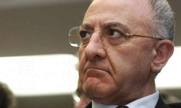 """Picco di contagi ad Afragola e Casoria. De Luca: """"Ho chiesto l'invio urgente di 300 unità appartenenti alle Forze Armate"""""""