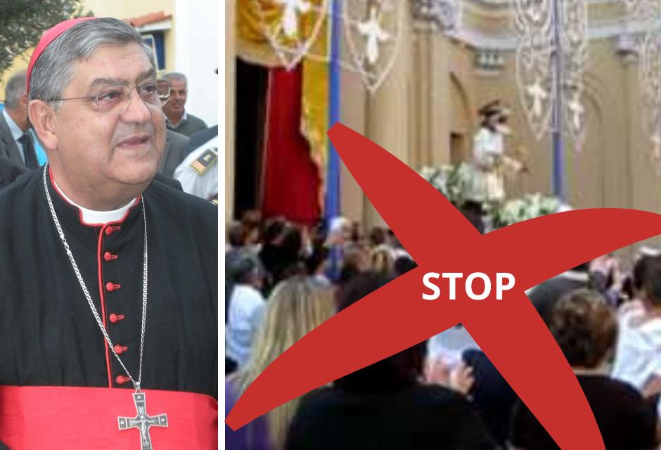 """Napoli. Il Cardinale Sepe conferma: niente processioni e """"stop"""" Messe online"""