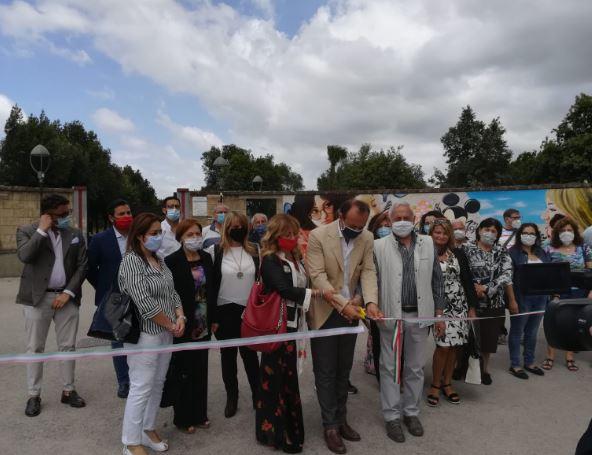 Cardito. Inaugurati i dipinti all'esterno del Parco Taglia