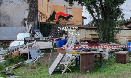 Discarica abusiva scoperta e sequestrata dai carabinieri nel napoletano: denunciato il proprietario