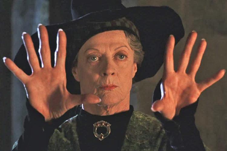 La prof Mcgranitt in Harry Potter. Maggie Smith racconta la sua battaglia