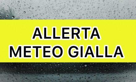 Allerta meteo gialla in Campania per domani