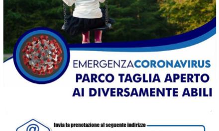 """Cardito. Il sindaco Cirillo: """"Il Parco Taglia aperto solo per i bambini disabili"""""""