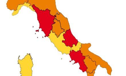 Cinque Regioni cambiano fascia: la scelta del Governo