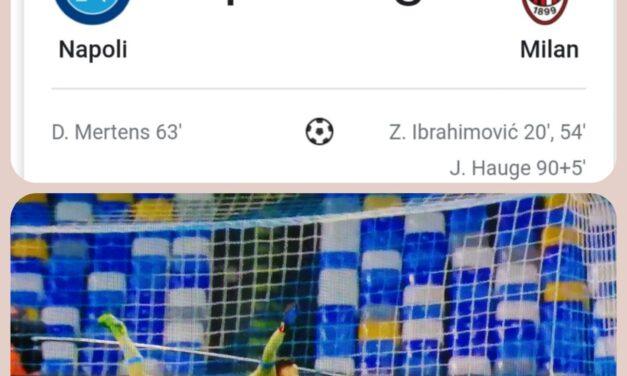 Calcio, Napoli-Milan: Ibrahimovic stende gli azzurri