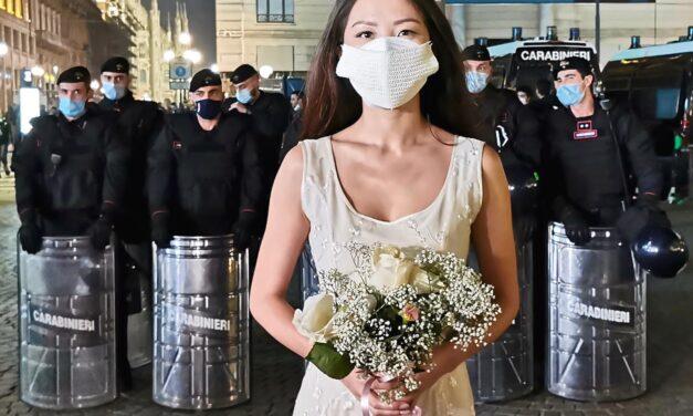 Lombardia in lockdown,  l'Arte di MAM dá la sveglia con un messaggio d'Amore