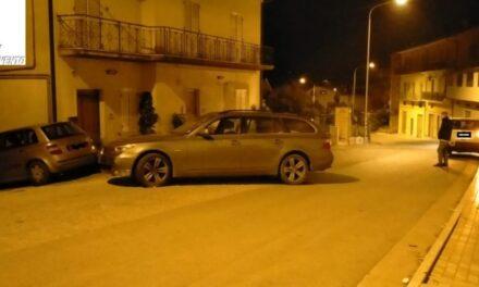 Intercettata banda di rapinatori a Benevento: ritrovate due auto rubate