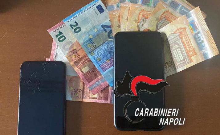Consegnava la droga a domicilio: i carabinieri arrestano 27enne di Qualiano