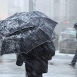 Arriva il freddo in Campania: da venerdì forti temporali e freddo
