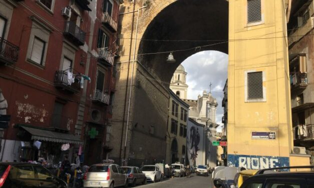 NAPOLI. TAMPONE SOSPESO nel quartiere di Totò: l'iniziativa