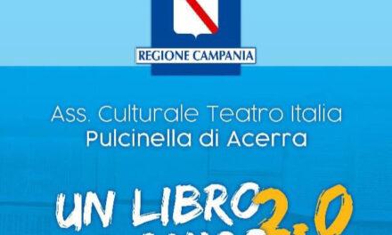 Resilienza culturale, il Teatro Italia di Acerra sui passi della cultura con 'Un libro per amico 2.0'
