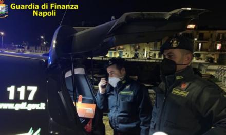 """Zona """"Arancione"""", 842 controlli a persone ed esercizi commerciali effettuati dalla Guardia di finanza a Napoli"""