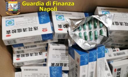 Operazione della Guardia di Finanza a Napoli: sequestrate 144 confezioni di farmaci provenienti dalla Cina