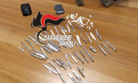 Ercolano. Blitz dei carabinieri: sequestrata droga e arrestati due uomini