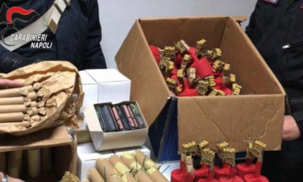 Sant'Antonio Abate. Ordigni artigianali in casa: 23enne arrestato dai carabinieri