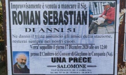 I funerali di Sebastian, il clochard della stazione: la data