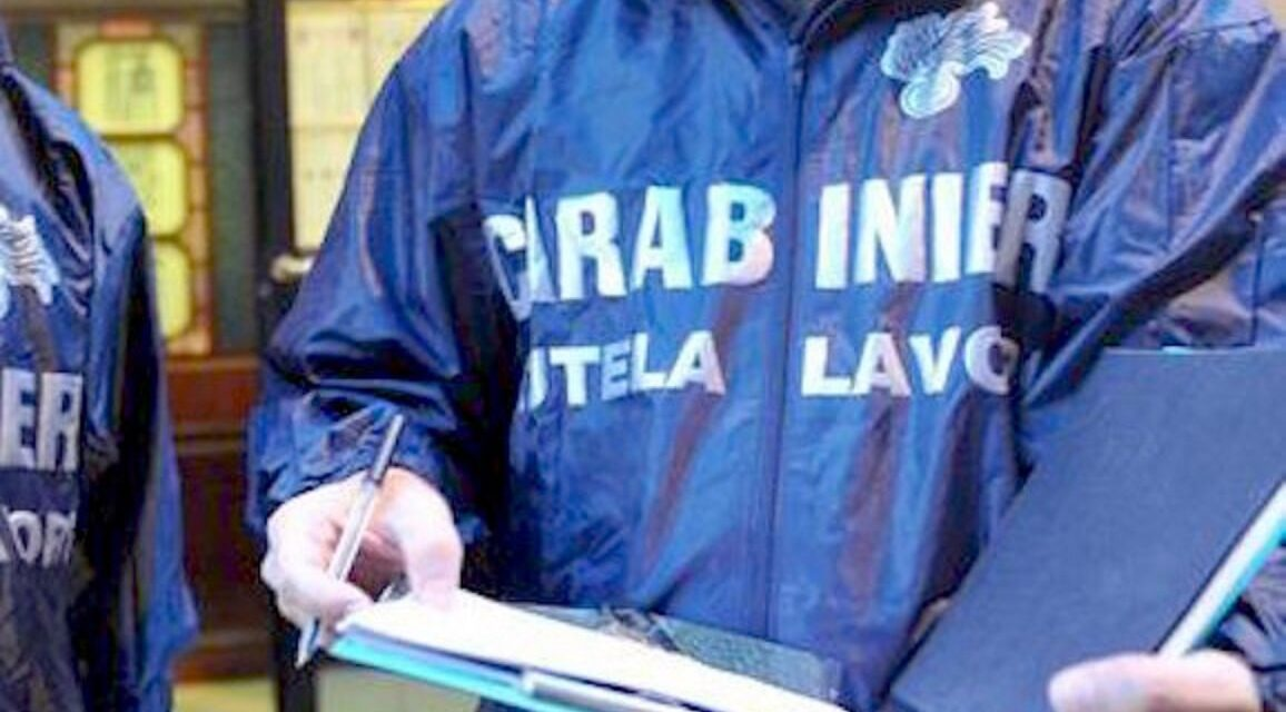 Torre del Greco. Lavoro sommerso e sicurezza, controlli dei carabinieri