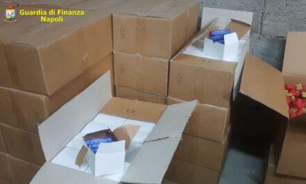 Sant'Antimo. Scoperto deposito con botti illegali, oltre 30 mila pezzi: arrestati due uomini