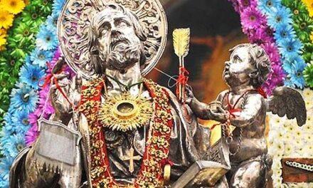 San Matteo, protettore di Salerno, cambia aspetto per essere da esempio