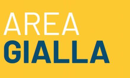 Da oggi quattro nuove regioni in ZONA GIALLA