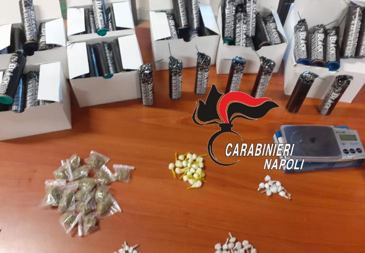Afragola. Linea dura dei carabinieri nel quartiere Salicelle: sequestrati armi e droga