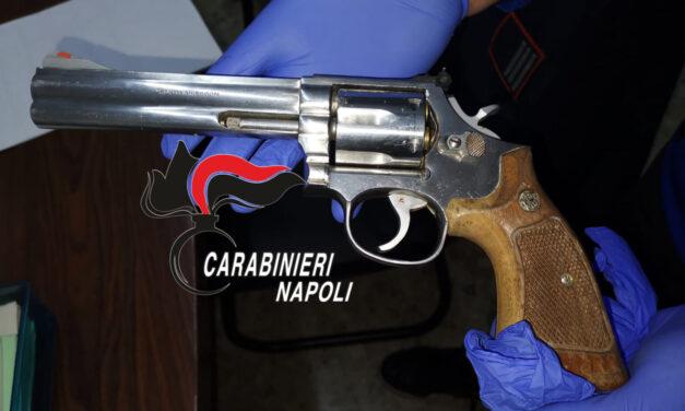 Controlli dei carabinieri di Grumo Nevano: scoperta pistola in un garage