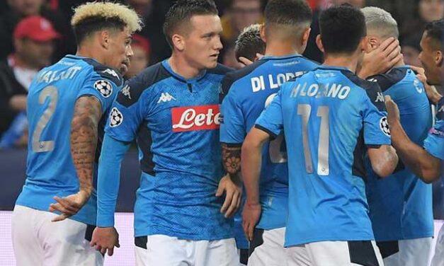 Il giocatore del Napoli Ghoulam positivo al Covid