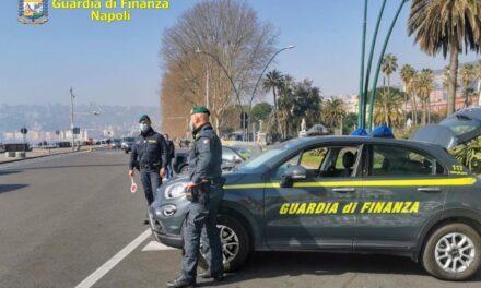 Controlli anticovid della Guardia di Finanza a Napoli e provincia: 127 sanzioni
