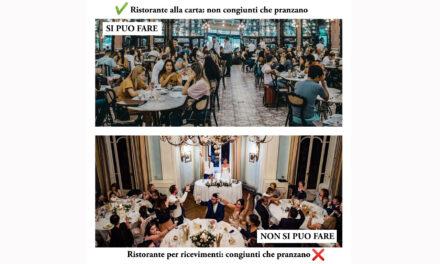 Wedding, Auletta (Confesercenti):  Grave errore del Governo, siamo solo un ricevimento