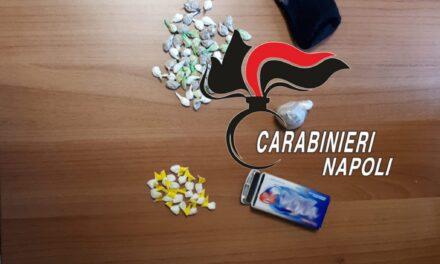 Scampia. Arrestato spacciatore: in possesso di 45 dosi di kobret e cocaina