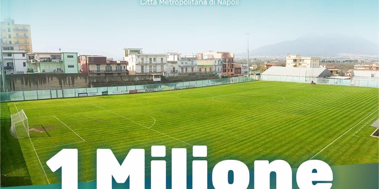 Palma Campania, nuovo manto erboso per lo stadio: «Riqualificheremo l'intera area