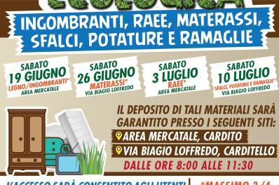 """Cardito. Al via le domeniche ecologiche, il sindaco Cirillo: """"Chi sporca la città non ama se stesso""""."""