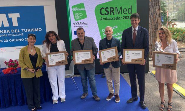 Premiati alla BMT i Campioni della sostenibilità, ecco i 5 CSRMed Ambassador del settore turistico