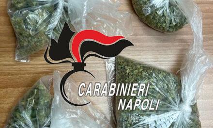 """Napoli: i Carabinieri hanno scoperto un 25enne con oltre 100 grammi di """"erba"""" in auto"""