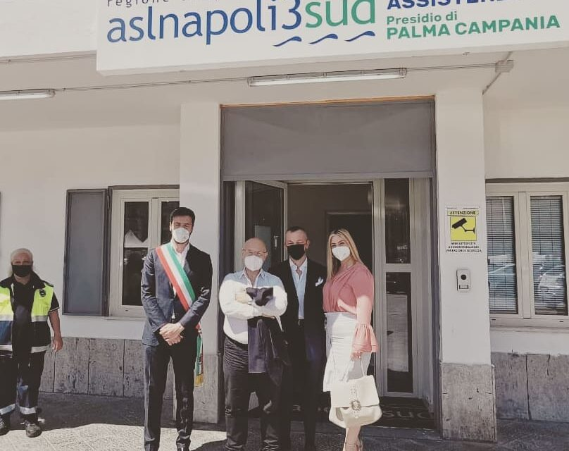 Palma Campania, inaugurata la nuova sede della guardia medica