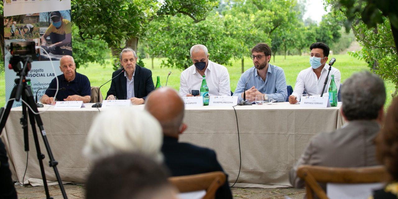 """""""Agrisocial Lab"""": inclusione di soggetti fragili come nuovo modello di welfare in Campania"""
