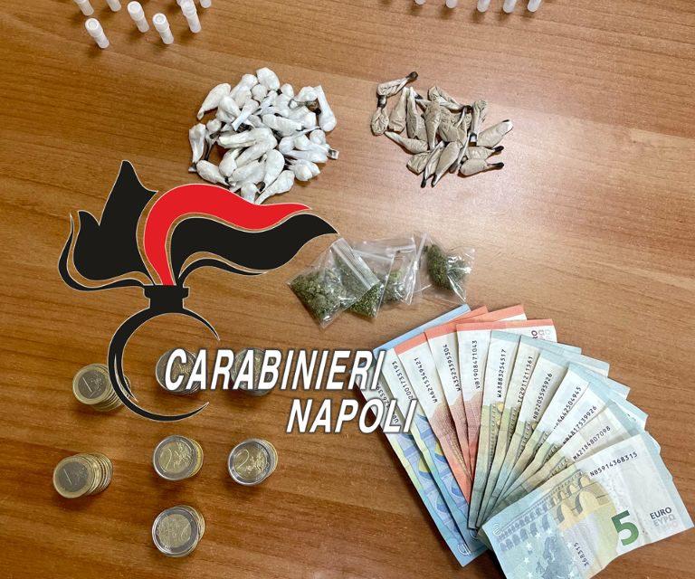 Napoli. Contrasto al traffico di droga, i carabinieri hanno arrestato a Scampia 4 pusher