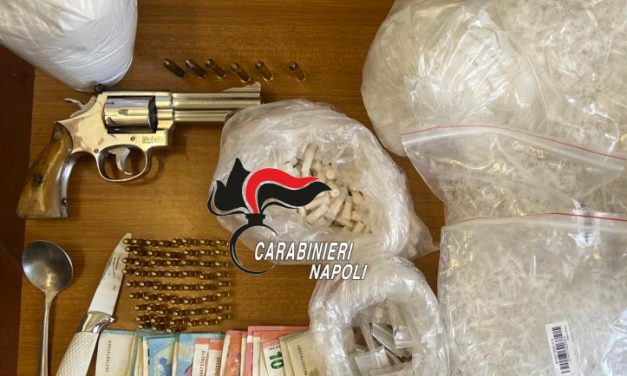 Scampia. Perquisizioni dei carabinieri mirate nel Lotto T-R e nella Torre A/2: arrestato un uomo
